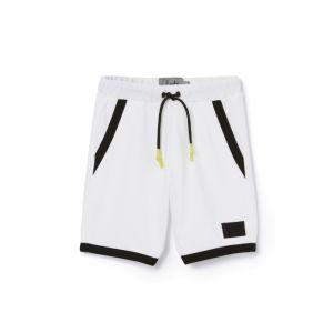 Il Gufo Boys White and Black Shorts