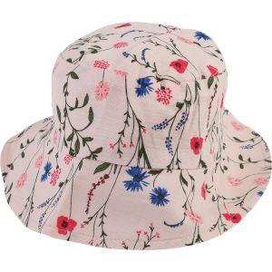 Carrément Beau Baby Girls Floral Cotton Sun Hat