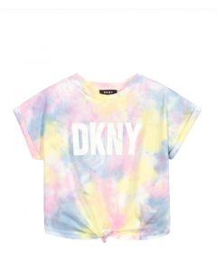DKNY Multicolour Logo T-Shirt