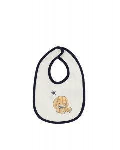 Monnalisa Baby Boy Bunny Bib