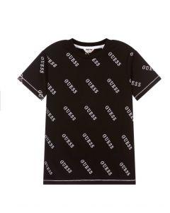 Guess Black & White Logo T-Shirt