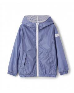 Il Gufo Denim Blue Windbreaker Jacket