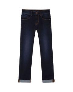 BOSS Kidswear Slim Fit Dark Wash Denim Jeans