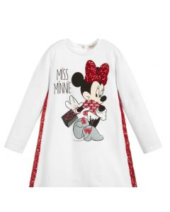Everything Must Change White Minnie Mouse Dress