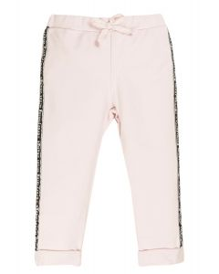 Everything Must Change Pink Taped Joggers