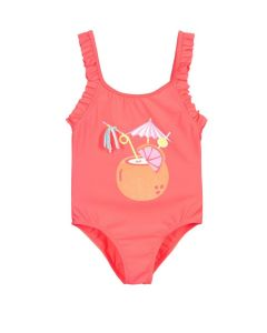 Billieblush Pink Tropical Swimsuit