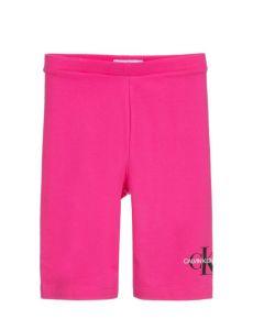 Calvin Klein Jeans Pink Logo Cycling Shorts