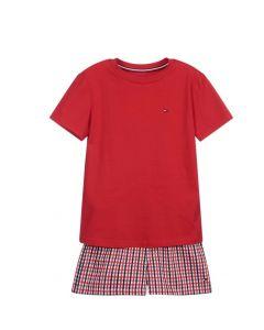 Tommy Hilfiger Boys Red Short Pyjamas
