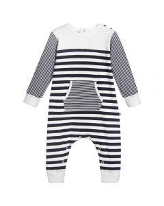 Absorba Baby Boy's Striped Babygrow