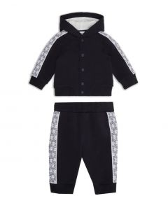 Emporio Armani Baby Boys Hooded Sweater And Trousers Set