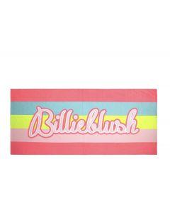 Billieblush Pink Logo Beach Towel (156cm)