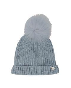 Martin Aranda Baby Blue Bobble Hat
