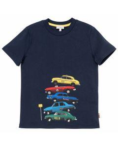 Paul Smith Junior Boys Navy Blue Taxi T-Shirt