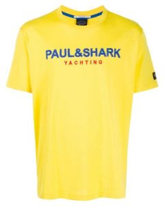 PAUL & SHARK Yellow Logo T-Shirt