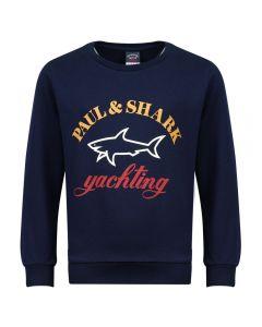 PAUL & SHARK Navy Logo Sweatshirt