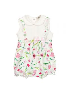 Everything Must Change Ivory Floral Print Shortie