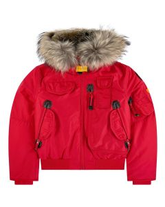 Parajumpers Girl's Red Down Padded Gobi Jacket