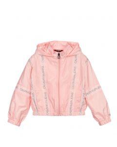 Calvin Klein Jeans  Pink Windbreaker Jacket