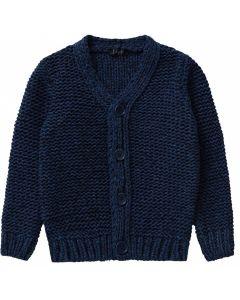 IL Gufo Boy's Denim Blue Cardigan