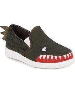 EMU Australia Crocodile Skate Kids Canvas Shoes