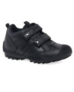 Geox Boy's Black 'Savage' Shoe