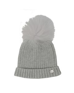 Martin Aranda Grey Bobble Hat
