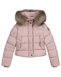 Parajumpers Girl's Bambi Pink Puffer Jacket