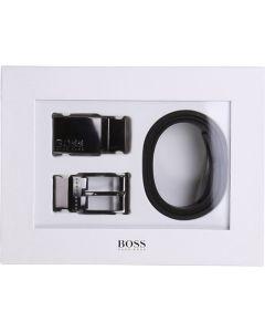 BOSS Kidswear Black Reversible Leather Belt