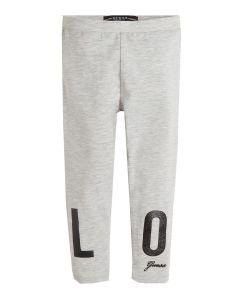 Guess Girls Grey 'Love' Leggings