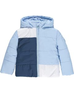 Mitch & Son Boys ' Paterson' Colour Block Hooded Coat