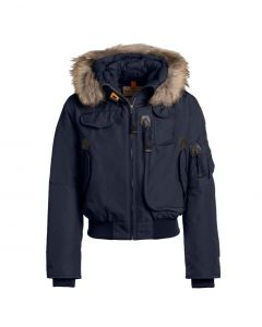 Parajumpers Girl's Navy Blue Down Padded Gobi Jacket