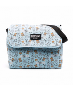 Moschino Baby Blue Changing Bag