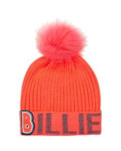 Billieblush Bright Fushia Bobble Hat