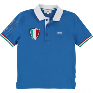 Boss Boy's Special Edition World Cup Italy Polo Top
