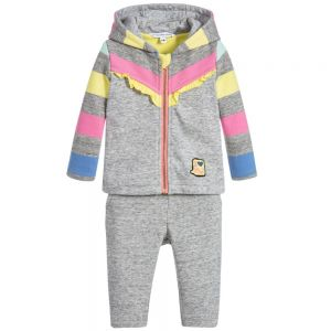 Little Marc Jacobs Girl's Candy Striped Tracksuit
