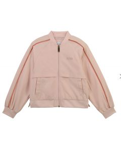 BOSS Kidswear Pink Windbreaker Jacket