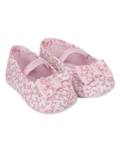 Absorba Baby Girl's Pink Liberty Print Shoes