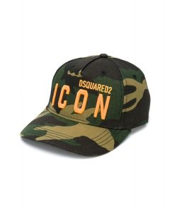 DSQUARED2 Kids Camouflage Icon Cap