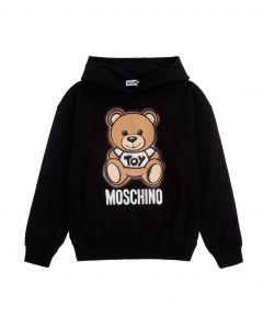 Moschino Kid-Teen Black Logo Sweatshirt