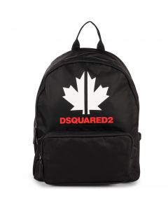 DSQUARED2 Black Sports Edition Backpack