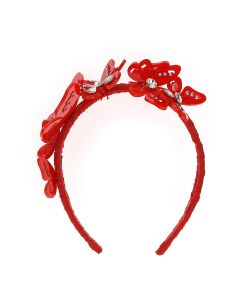 Monnalisa Red Butterflies Hairband