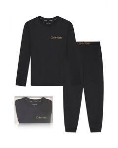 Calvin Klein Black and Gold  Cotton Pyjamas
