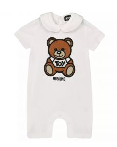 Moschino Baby White Teddy Shortie