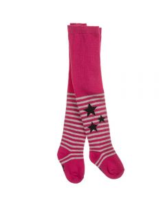 3Pommes Fuchsia Pink Cotton Tights