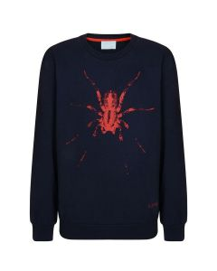Lanvin Boys Navy Spider Sweatshirt