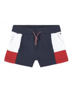 Tommy Hilfiger Navy, White and Red Cotton Shorts