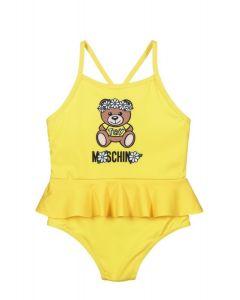 Moschino Baby Yellow Teddy Bear Daisy Swimsuit