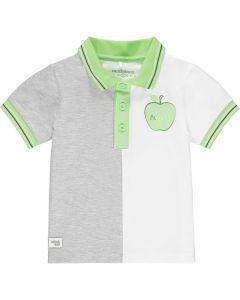 Mitch & Son Boys Pale Blue Cotton 'Gilbert' Polo Shirt