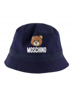 Moschino Baby Navy Toy Bucket Hat