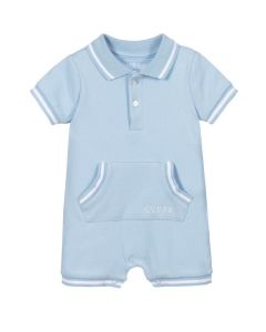 Guess Pale Blue Organic Cotton Shortie